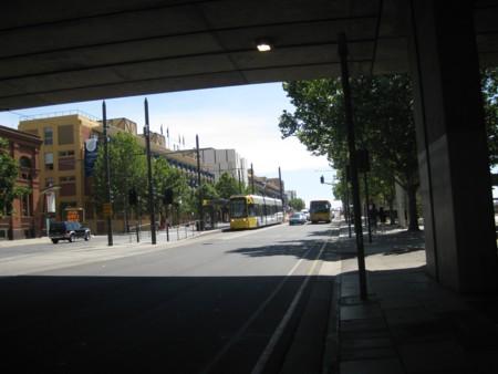Adelaide Tram at the Terminus