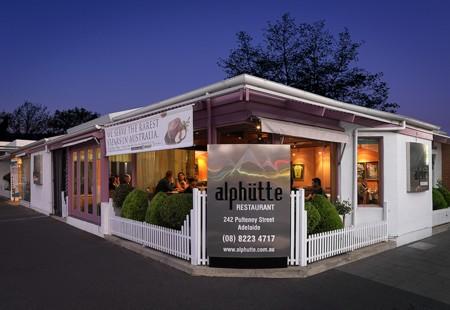 Alphutte Restaurant, Pulteney Street, Adelaide