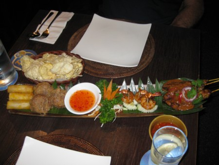 Bayang Restaurant, Clarke Quay - entree