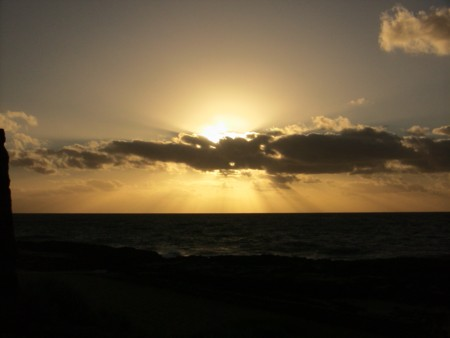 Bunbury Sunset over the Ocean