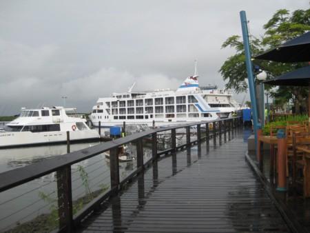 Cruising Yacht Moored at Port Denarau