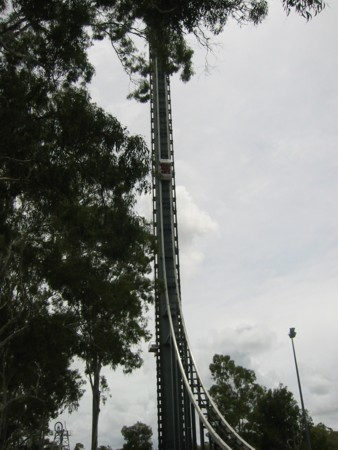 DreamWorld's Tower Rides