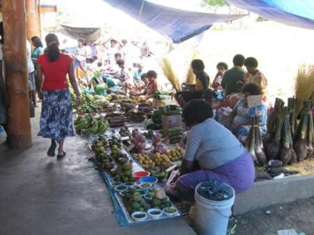 Fijian Marketstall Holders