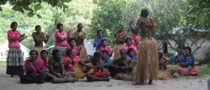 Fijian Singing Group