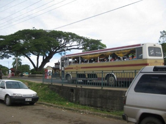 Fijian Windowless Bus