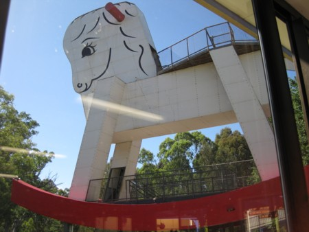 Gumeracha's Giant Rocking Horse