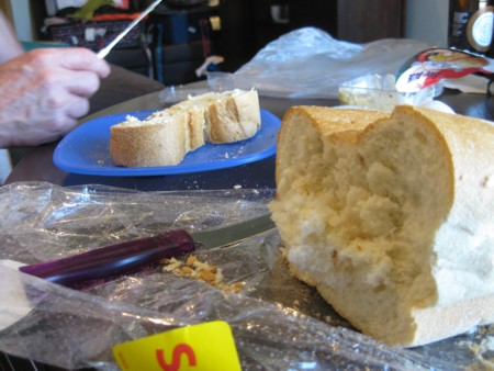 How Not to Cut Bread