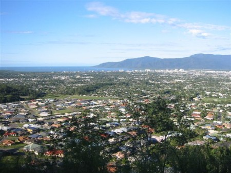 View over Cairns