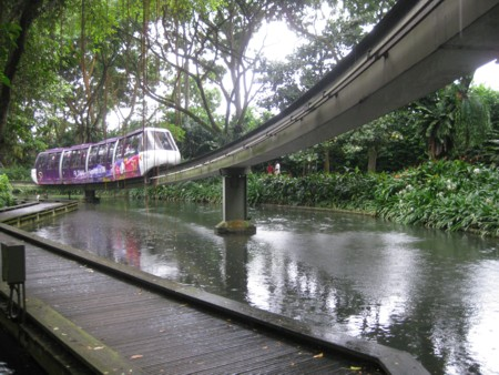 Jurong Bird Park  Monorail