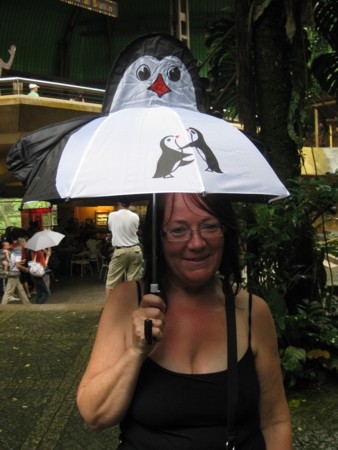 May's Penguin Umbrella