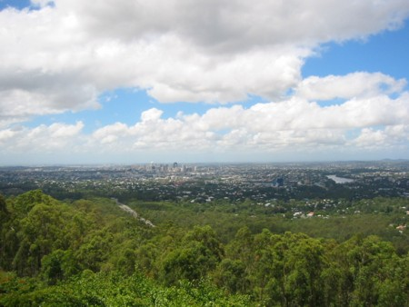 Mt Coot-tha Lookout View