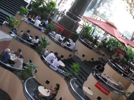Multi-Level McDonalds on Orchard Road