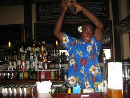 Octopus Resort Barman