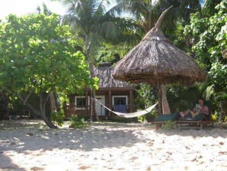 Our Bure, Hammock & Sun Loungers with David in Residence