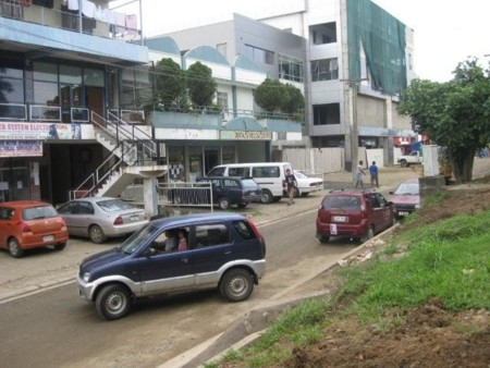 Part of the Nadi Shopping Strip