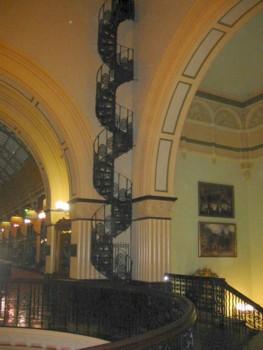 Queen Victoria Building Spiral Staircase