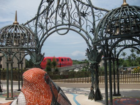 Sentosa Island Clock and Monorail