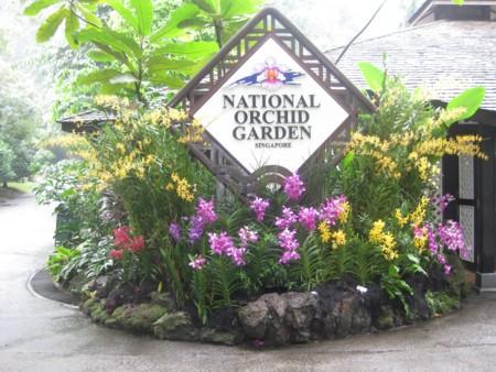 Singapore Botanic Gardens - Orchid Garden Entrance