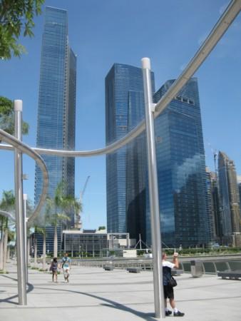 Singapore's Misting Sculpture