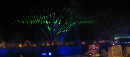 Songs of the Sea Laser Lights