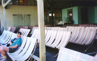 The Deckchairs in Sun Pictures, Broome