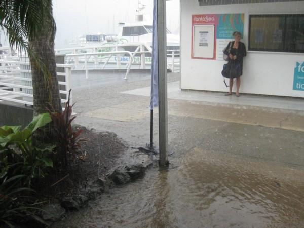 Hamilton Island puddle