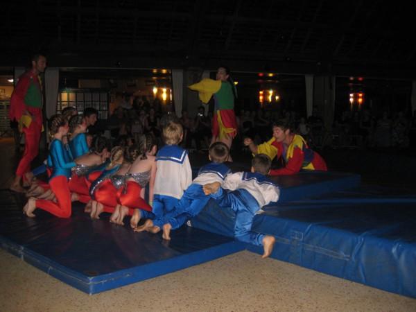 Kids Club Circus Participants
