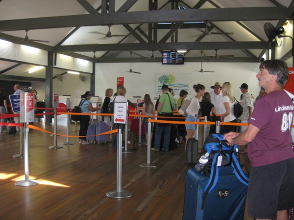 Hamilton Island Airport check-in