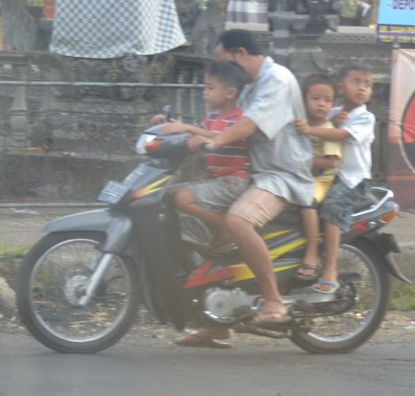 Dad plus Three