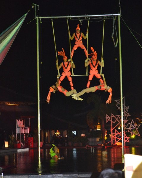 Five Person Trapeze