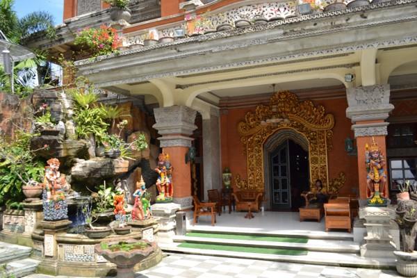Batik Shop Courtyard