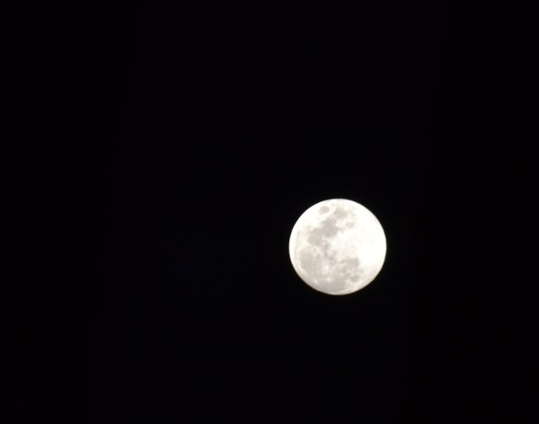 Full Moon from a Balinese Beach