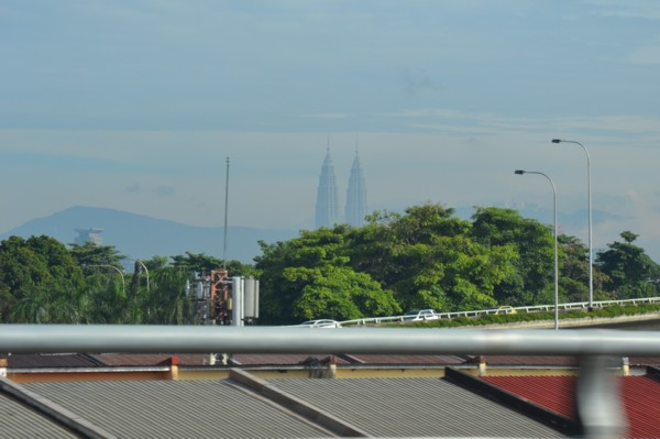 Petronas Towers - First Glimpse