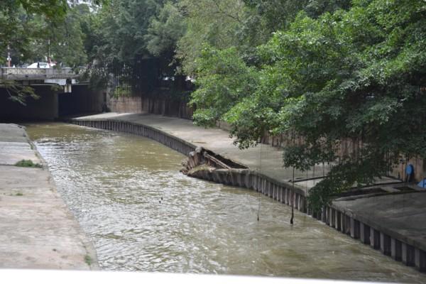Collapsing River Bank