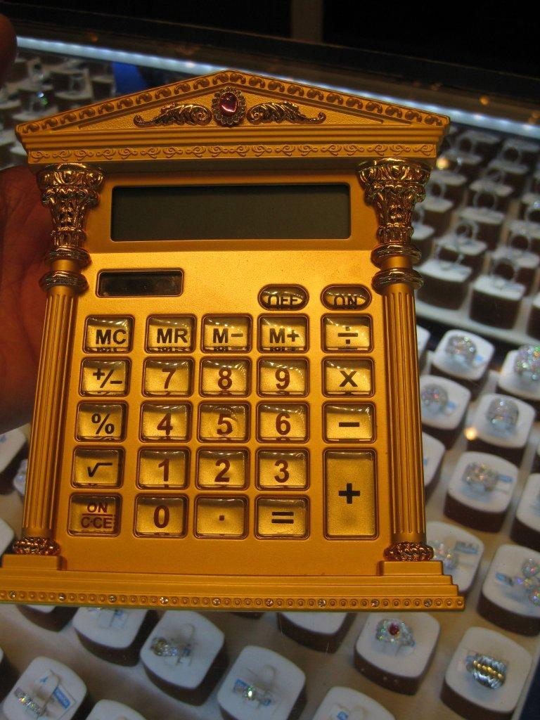 'Gold' Calculator