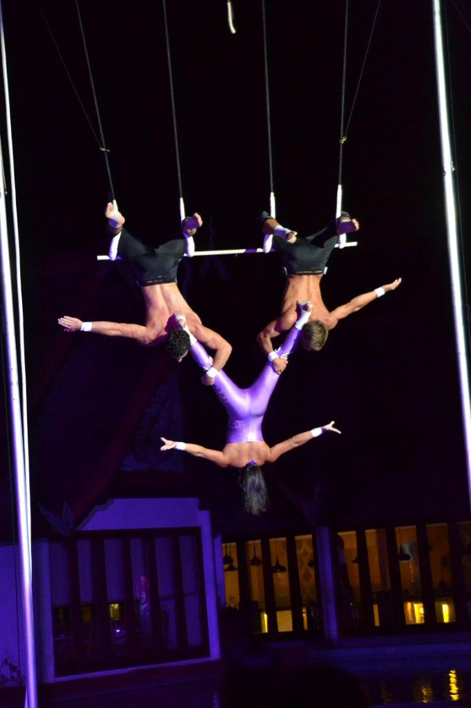 Trapeze Act at Club Med